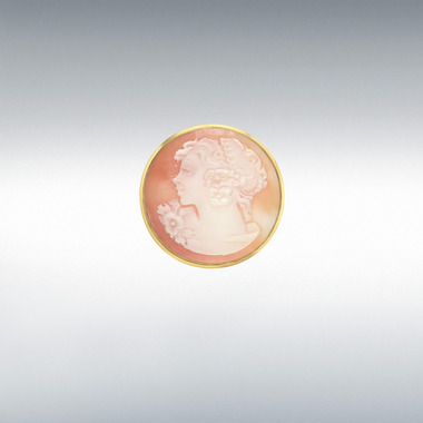 9ct-Gold-Cameo-Brooch-Round-BR00006