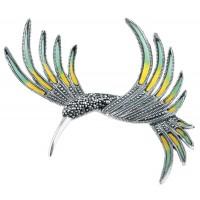 Real-Silver-Hummingbird-Brooch-BRS00084