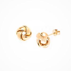 18ct-Gold-10mm-Knot-Stud-Earrings-ESA00465